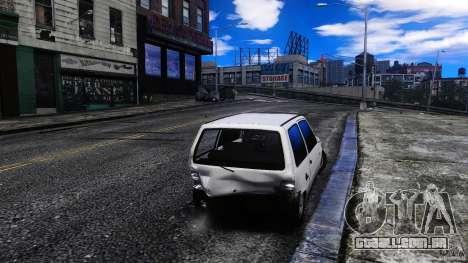 VAZ 1111 Oka para GTA 4 vista interior