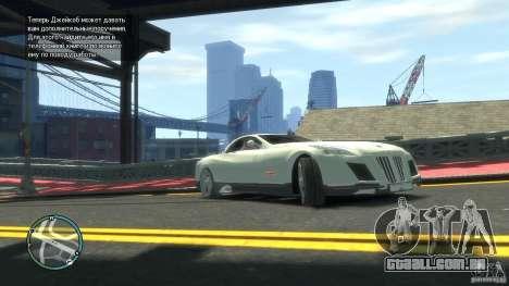 Maybach Exelero para GTA 4 esquerda vista