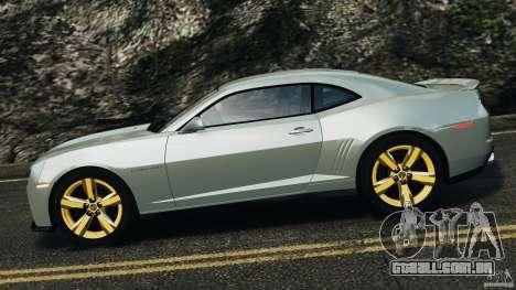 Chevrolet Camaro ZL1 2012 v1.2 para GTA 4 esquerda vista
