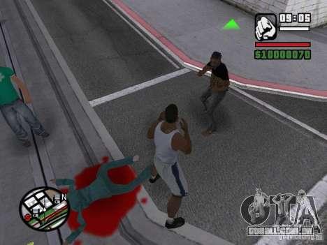 Você não pode bater as mulheres 2.0 para GTA San Andreas segunda tela