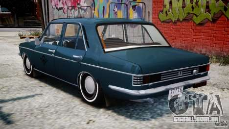 Peykan 1348 1970 para GTA 4 vista inferior