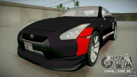 Nissan GT-R  AMS Alpha 12 para GTA San Andreas