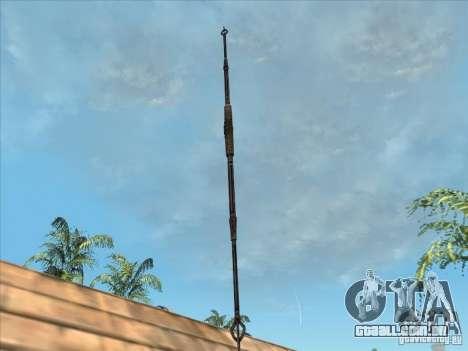 A lança de predador para GTA San Andreas segunda tela