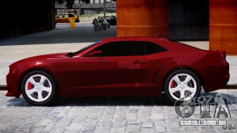 Chevrolet Camaro SS 2009 v2.0 para GTA 4 traseira esquerda vista
