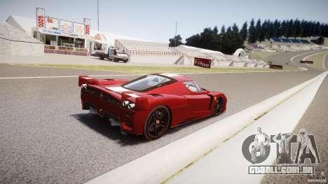 Ferrari FXX para GTA 4 vista inferior
