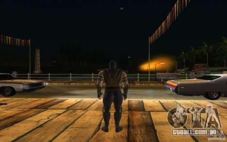 Scorpion v2.2 MK 9 para GTA San Andreas terceira tela