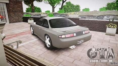 Nissan 200SX para GTA 4 traseira esquerda vista