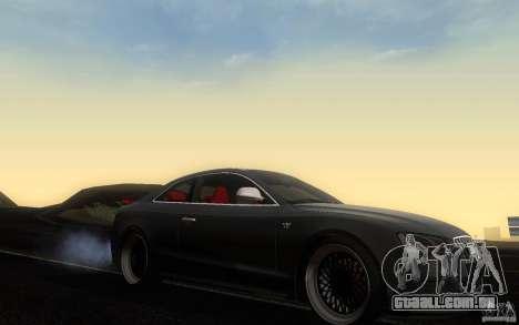 Audi S5 Black Edition para GTA San Andreas vista interior