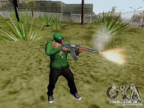 AK-47 de Saints Row 2 para GTA San Andreas segunda tela