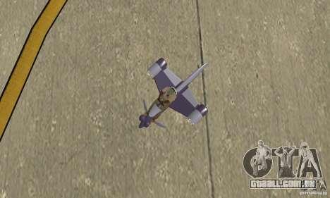Flying Fish para GTA San Andreas vista direita