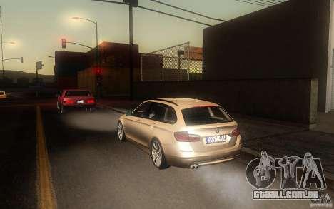 BMW F11 530d Touring para GTA San Andreas vista direita