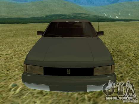 Moskvich 2141-Sviatogor 45 para GTA San Andreas esquerda vista