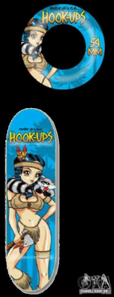 Skate # 1 para GTA 4 vista direita