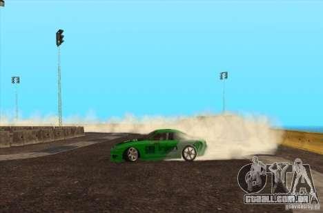 Nova faixa para drifting para GTA San Andreas terceira tela
