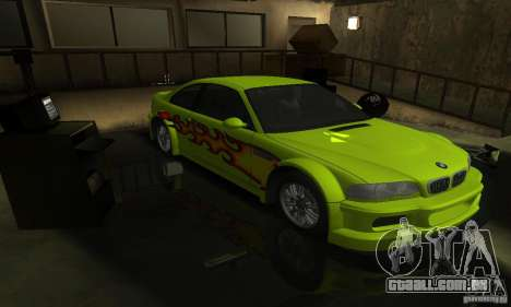 BMW M3 Tuneable para as rodas de GTA San Andreas