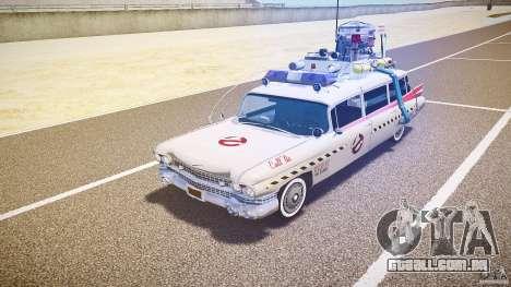 Final de Ecto-1 (caçadores de fantasmas) para GTA 4 esquerda vista