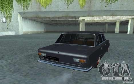 Estilo Retro Vaz-2101 para GTA San Andreas traseira esquerda vista
