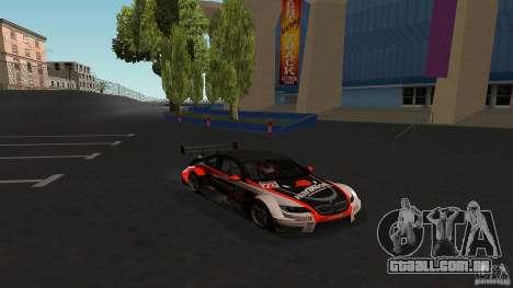 BMW E92 M3 para GTA San Andreas vista traseira