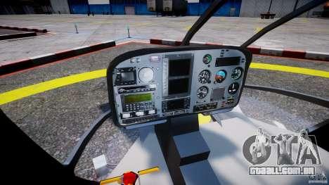 Eurocopter 130 B4 para GTA 4 vista direita