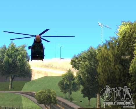 Cops Hoddogeres para GTA San Andreas vista direita