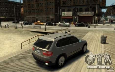 BMW X5 E70 Chrome para GTA 4 vista direita