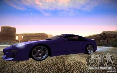 Nissan 300 ZX para GTA San Andreas esquerda vista