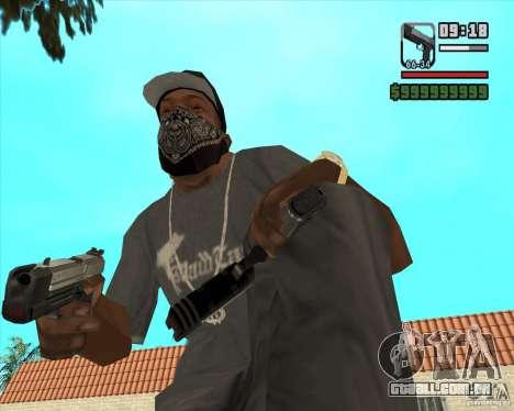 New Pistol para GTA San Andreas segunda tela
