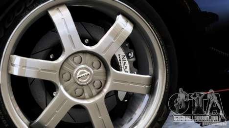 Nissan GT-R R35 SpecV 2010 para GTA 4 traseira esquerda vista