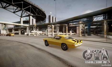 Chevrolet Camaro Z28 para GTA 4 vista inferior