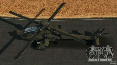 Boeing AH-64 Longbow Apache v1.1 para GTA 4 vista direita