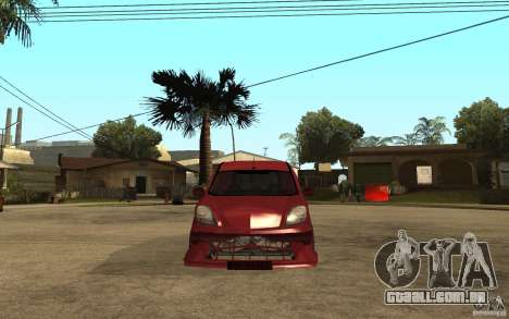 Renault Kangoo Tuning para GTA San Andreas vista direita