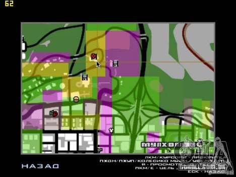 Miami House para GTA San Andreas quinto tela