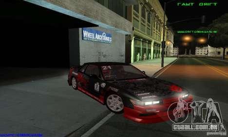 Nissan Silvia S13 Tunable para GTA San Andreas vista direita