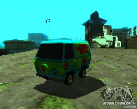 Mystery Machine para GTA San Andreas