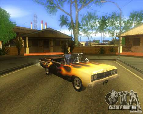 Dodge Coronet 1967 para GTA San Andreas vista interior