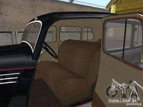 GÁS 11-73 para GTA San Andreas vista traseira