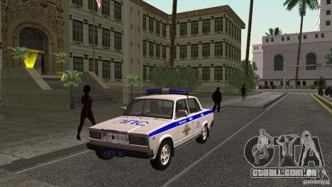 VAZ 2107 PPP Arzamas para GTA San Andreas