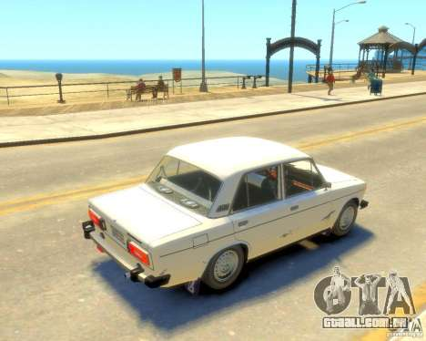 VAZ-2106 para GTA 4 traseira esquerda vista