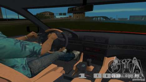 BMW 5S Touring E39 para GTA Vice City vista direita