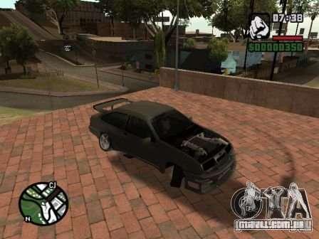 Ford Sierra Drift para GTA San Andreas esquerda vista
