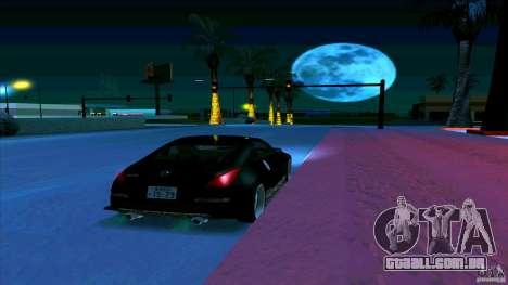 Nissan 350Z JDM para vista lateral GTA San Andreas