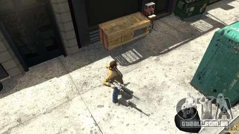 PSG1 (Heckler & Koch) para GTA 4 terceira tela