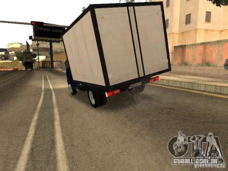 GAZ 3302-14 para GTA San Andreas vista direita