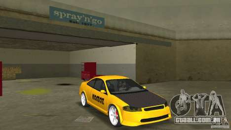 Honda Accord Coupe Tuning para GTA Vice City vista traseira