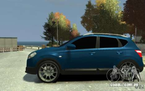Nissan Qashqai 2010 para GTA 4 esquerda vista