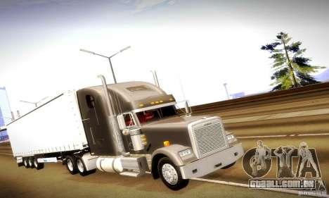 Freightliner Classic XL para GTA San Andreas esquerda vista