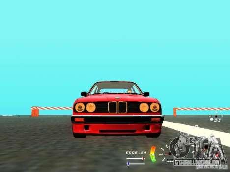 BMW E30 87-91 para GTA San Andreas traseira esquerda vista