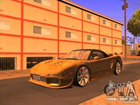 Acura NSX 1991 Tunable para GTA San Andreas