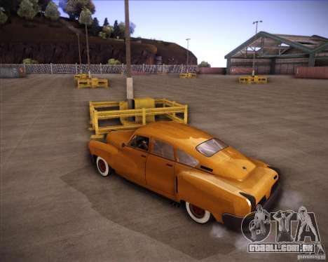 Walker Rocket para GTA San Andreas traseira esquerda vista