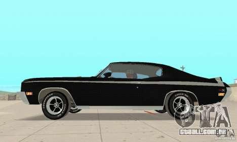 Buick GSX Stage-1 para GTA San Andreas traseira esquerda vista